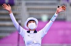 Vận động viên đầu tiên đoạt 3 huy chương vàng tại Olympic Tokyo 2020