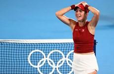 Tay vợt nữ Thụy Sĩ đầu tiên vô địch nội dung đơn nữ tại Olympic