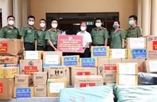 Bắc Giang trao tặng vật tư y tế, nhu yếu phẩm hỗ trợ tỉnh Tây Ninh