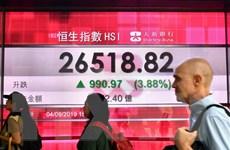 Lạc quan về đà phục hồi kinh tế, chứng khoán châu Á hầu hết đi lên