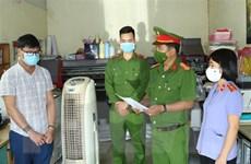 Quảng Bình khởi tố thêm một đối tượng vụ án làm giả con dấu, tài liệu