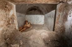 Phát hiện hài cốt được bảo quản tốt, làm sáng tỏ nền văn hóa Pompeii