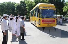 Cán bộ y tế Lâm Đồng, Ninh Thuận hỗ trợ TP.HCM chống dịch