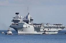 Tàu khu trục Nhật Bản và Anh tham gia tập trận hải quân chung