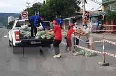 Công an Đà Nẵng vận hành, bán hàng trên 30 container cho điểm dân cư