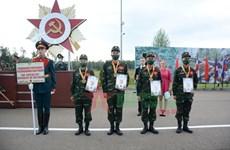 Army Games: Đội tuyển QĐND Việt Nam nhận HCĐ cuộc thi kinh tuyến