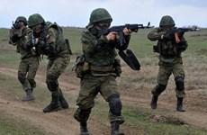 Khoảng 500 binh sỹ Nga tập trận tại nước láng giềng của Afghansitan