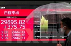 Nối gót đà tăng trên Phố Wall, thị trường chứng khoán châu Á đi lên