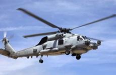 Trực thăng của Hải quân Mỹ rơi ở ngoài khơi bờ biển San Diego