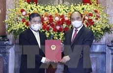 Chủ tịch nước trao Quyết định bổ nhiệm Đại sứ Việt Nam tại Campuchia