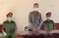 Lĩnh án tù vì cầm dao chống đối lực lượng làm nhiệm vụ chống dịch