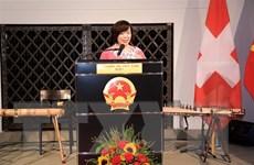 Quan hệ hợp tác Việt Nam-Thụy Sĩ đạt nhiều thành tựu sau 50 năm