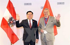 Chủ tịch Quốc hội Vương Đình Huệ dự Diễn đàn doanh nghiệp Việt Nam-Áo