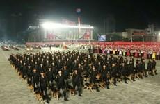 Triều Tiên tổ chức diễu binh nhân kỷ niệm 73 năm ngày Quốc khánh