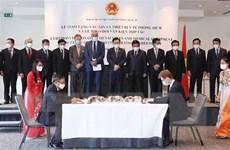 Doanh nghiệp Việt Nam ký nhiều thỏa thuận với đối tác Bỉ và EU