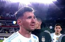 """Messi gây sốt trên Twitter sau khi phá kỷ lục của """"Vua bóng đá"""" Pele"""