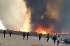 Nổ và hỏa hoạn do rò rỉ khí hóa lỏng ở Trung Quốc, 8 người tử vong