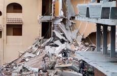 Nga: Sập nhà hai tầng do nổ khí gas khiến 3 người thiệt mạng