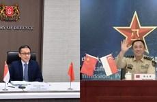 Singapore và Trung Quốc tăng cường hợp tác quốc phòng