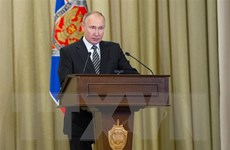 Ông Putin bỏ phiếu trực tuyến trong cuộc bầu cử Duma Quốc gia Nga
