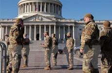Vệ binh Quốc gia Mỹ bảo vệ Điện Capitol trước khả năng có biểu tình