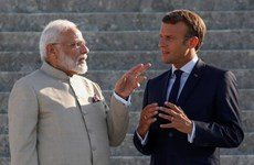 Pháp, Ấn Độ cam kết phối hợp tại Ấn Độ Dương-Thái Bình Dương