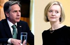 Ngoại trưởng Anh và Mỹ thảo luận các vấn đề song phương