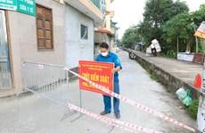 [Photo] Khu dân cư ở Hà Đông bị phong tỏa vì có ca nhiễm COVID-19