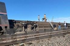 Mỹ tiến hành điều tra vụ tại nạn tàu hỏa khiến 3 người thiệt mạng