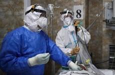Dịch COVID-19: Mỹ, Nga có số ca nhiễm và tử vong cao nhất qua 24h giờ