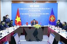 ASEAN cam kết tăng hợp tác chống tội phạm xuyên quốc gia