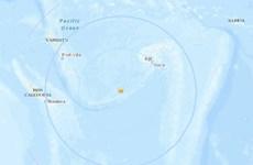 Động đất 7,2 độ làm rung chuyển khu vực gần đảo quốc Vanuatu