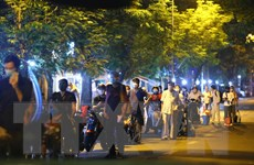 Những người trong khoa thận Bệnh viện Việt Đức được phép về nhà