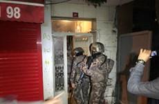 Thổ Nhĩ Kỳ bắt 126 đối tượng tình nghi có kế hoạch tấn công khủng bố