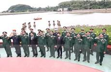 Lễ dâng hương kỷ niệm 60 năm Ngày mở đường Hồ Chí Minh trên biển