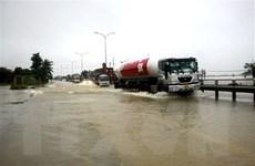 Quảng Nam điều tiết giao thông tại tuyến đường bị chia cắt vì mưa lớn