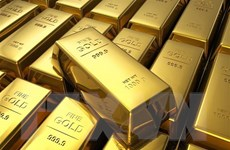 Giá vàng thế giới tăng nhẹ trong khi thị trường chứng khoán đi xuống
