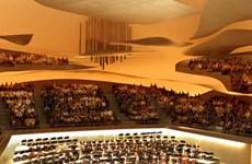 Pháp mở cửa nhà hát siêu hiện đại Philharmonie de Paris