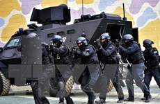 [Photo] Hàn Quốc diễn tập chống khủng bố trước khi tập trận với Mỹ