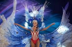 Mãn nhãn với màn trang phục truyền thống của thí sinh Hoa hậu hoàn vũ