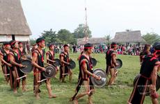 [Photo] Sống động lễ hội cầu an của đồng bào Ba Na ngay trong thủ đô