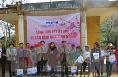 [Photo] TTXVN trao tặng nhà tình nghĩa và quà tết cho đồng bào dân tộc