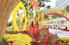 [Photo] TP.HCM rực rỡ khai mạc chợ hoa Xuân phục vụ người dân