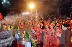 [Photo] Lễ khai ấn Đền Trần Nam Định diễn ra nhộn nhịp trong đêm
