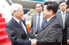 [Photo] Hoạt động của Tổng Bí thư Nguyễn Phú Trọng tại Trung Quốc