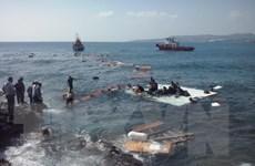 EU mạnh tay kiểm soát người nhập cư qua đường Địa Trung Hải