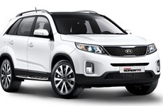 Kia New Sorento giới thiệu phiên bản mới trị giá 873 triệu đồng