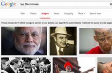 Google xin lỗi vì để hình ảnh Thủ tướng Ấn Độ lọt danh sách tội phạm