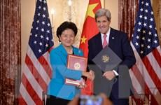 Mỹ và Trung Quốc tổ chức nhiều cuộc đối thoại và tham vấn cấp cao