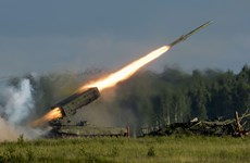 """[Photo] Nga rầm rộ """"trình diễn"""" sức mạnh tại triển lãm quốc phòng"""